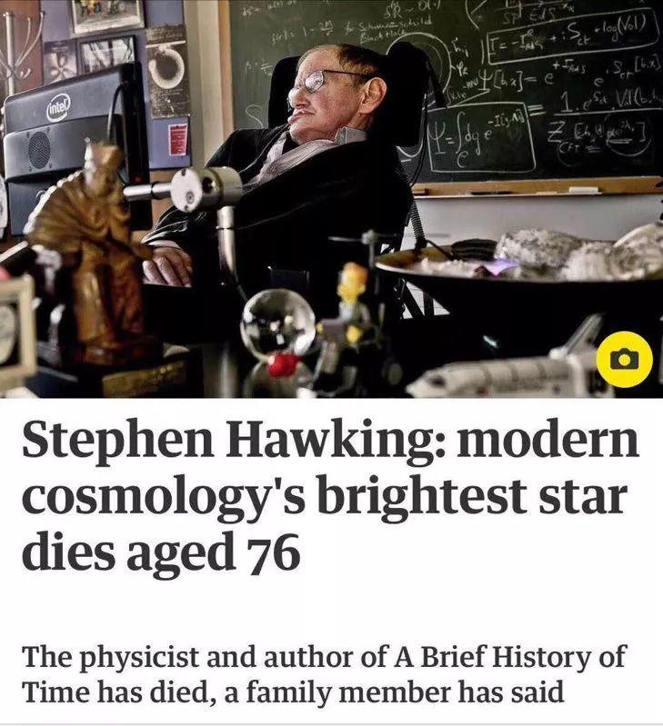 除了霍金,我们或许该记住并缅怀更多人。